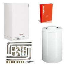 Котел Viessmann Vitopend 100-W A1HB 24 кВт + Бойлер Vitocell 100-W CUGA 150 л