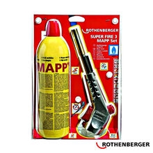 Набор ROTHENBERGER SUPER FIRE 3 MAPP